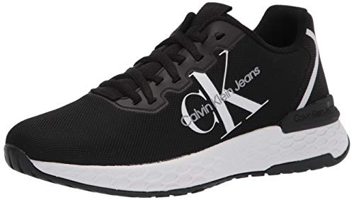 Calvin Klein Women s ABEL Sneaker  Black  10