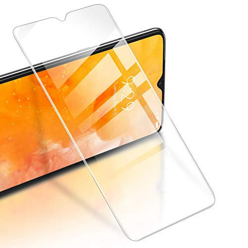 RIWNNI [3 Unidades Cristal Templado para Xiaomi Redmi Note 8 Pro, 0.25mm Ultra Fino Alta Definicion Protector Pantalla 9H Dureza Vidrio Templado Sin Burbujas para Redmi Note 8 Pro - Transparente