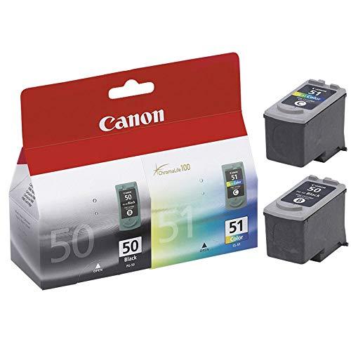 Canon PG50 / CL51 Schwarz- und Farbpatronen
