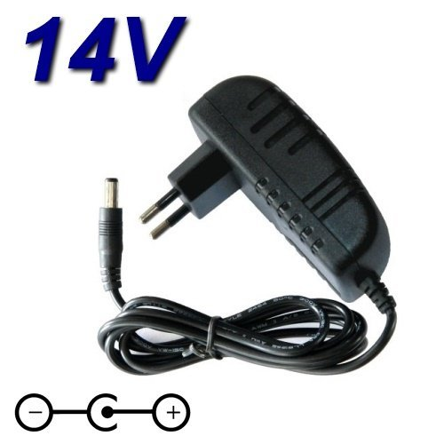 TOP CHARGEUR * Adattatore Caricatore Caricabatteria Alimentatore 14V per Monitor TV Samsung SyncMaster 15' 17' 18' 19' 21' 22'' 24' 27' LCD LED HD AD-4214N AD-4914N AP06314-UV BN44-00486A