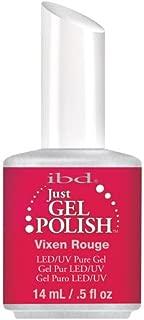 IBD Just Gel Nail Polish, Vixe Rouge, 0.5 Fluid Ounce