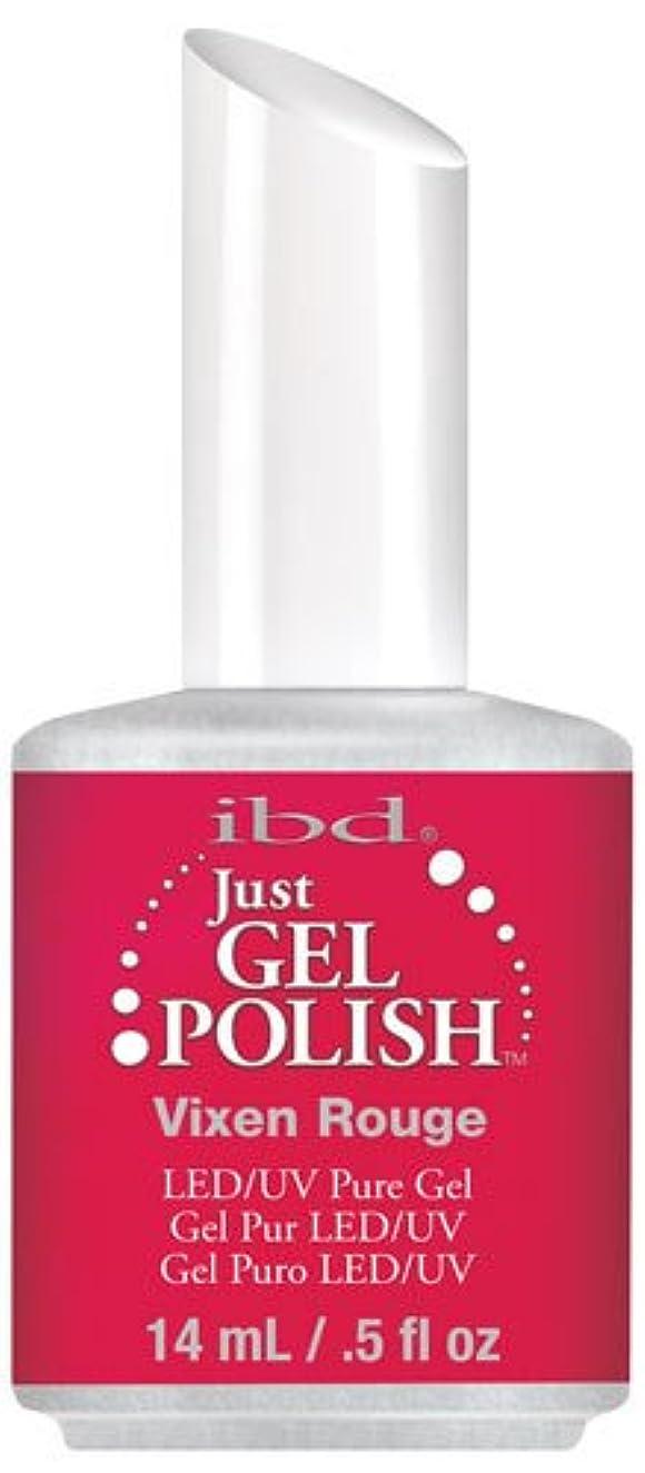 患者ウナギドナウ川IBD Just Gel Polish - Vixen Rouge - 0.5oz / 14ml