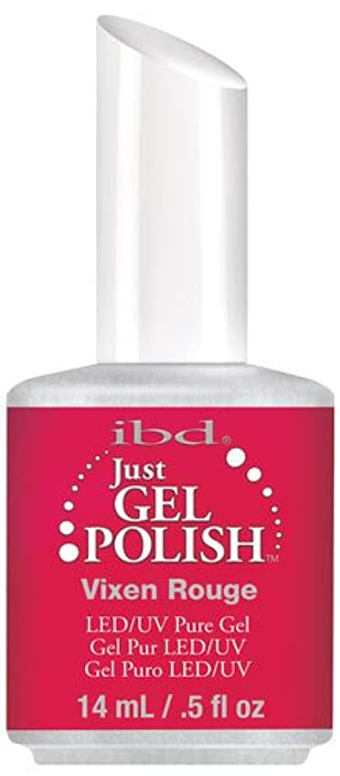 便利さ告発ローマ人IBD Just Gel Polish - Vixen Rouge - 0.5oz / 14ml