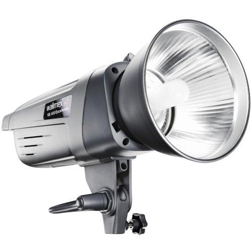 Walimex Pro VE-400 - Luz para Flash de Estudio con Receptor Integrado y Salida de 400 W, Gris