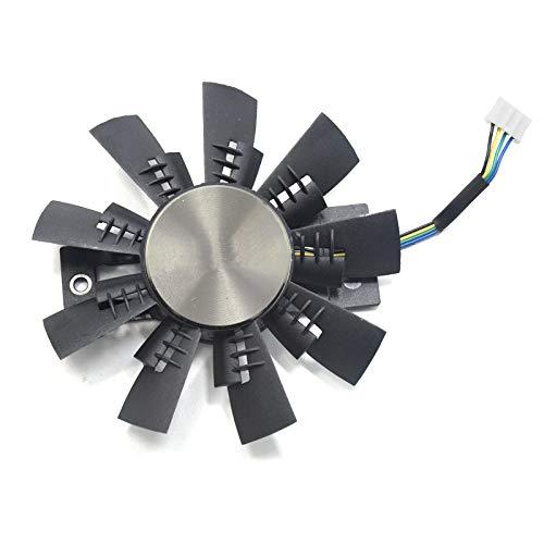 GA92S2U - Ventilador de refrigeración para tarjeta gráfica Zotac GTX 1070/1080/1070 Ti Extreme (1 unidad)
