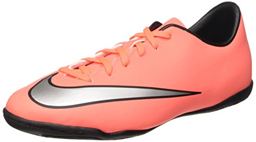 Nike Unisex-Child Jr Mercurial Victory V Ic Fußballschuhe, Mehrfarbig (Brght MNG/Mtllc Slvr-Hypr TRQ), 36 1/2 EU