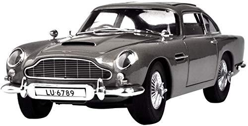 Zhangl Lernspielzeug, Fernsteuerungsauto-Spielzeug, Modellauto 01.18 Aston Martin DB5 Auto-Modell-Simulation Sports Car Metal Collection senden Jungen zusammengebautes Spielzeug-Geschenke (Farbe: Raff