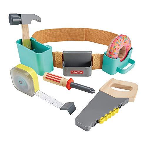 Fisher-Price DIY Caja de herramientas, juguetes construcción niños +3 años (Mattel GGT60)