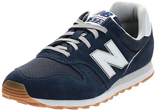 New Balance 373v2, Baskets Homme, Bleu (Navy/White Db2), 42 EU