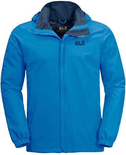 Jack Wolfskin Herren Stormy Point Hardshelljacke, Brilliant Blue, XL