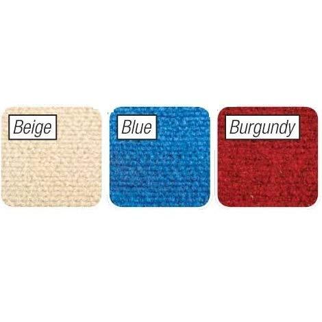 Peel and Stick Beige Berber Carpet Tiles 12'x12' Set of 10