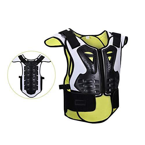 Y & Z Kids rugbescherming Borst Rugbescherming Beweging Bescherming Armor met Reflecterend Ontwerp, Kinderen Lichaamsbescherming Armour voor Fietsen Skateboarden