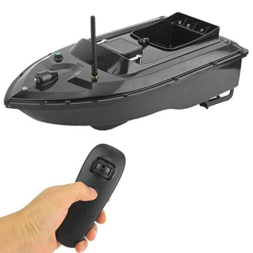 Portable High Speed Remote Control Fishing Bait Boat for Pools & Lakes - 500M Wireless Best Ship Speedboat Fish Finder Fishing Bait Boat Gift Toys for Kids Adults Birthday(UK)
