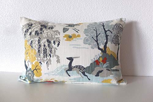 Athena Bacon Dwell Studio Modern Toile Persimmon Pillowcase Cover