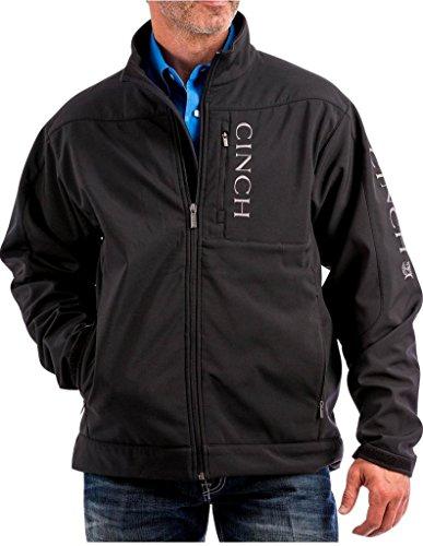 Cinch Apparel Mens Concealed Carry Bonded Jacket XXL Black