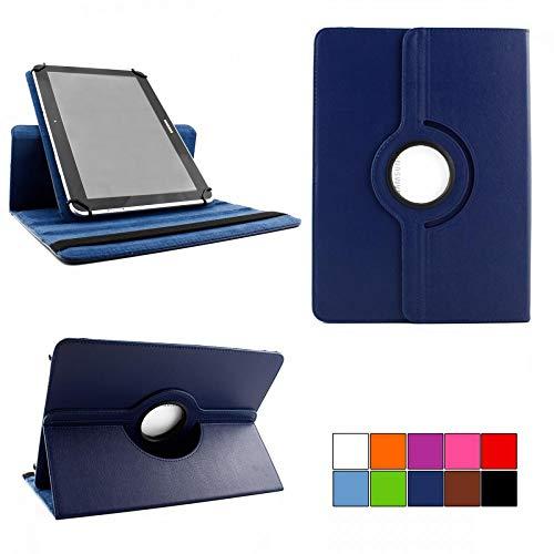 COOVY® 2.0 360° Rotation Cover Universal für alle 7/8 / 8.4 Zoll Tablet Modelle Hülle Tasche Etui Hülle Schutz Ständer   UNIVERSAL 7/8 dunkelblau
