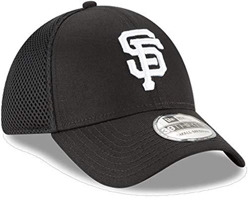 New Era Authentic San Francisco Giants Black Neo 39THIRTY Flex Hat (M/L) - M/L