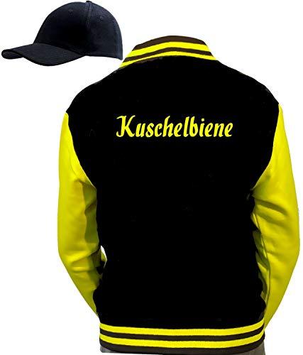 Cool Fun-T-shirts bijenkostuum partybiene dansbijen feestbijen champagnebijen flottebank verschillende om uit te kiezen jas + pet groepskostuum zwart geel maat S M L XL XXL 3XL Large Knuffelbijen.