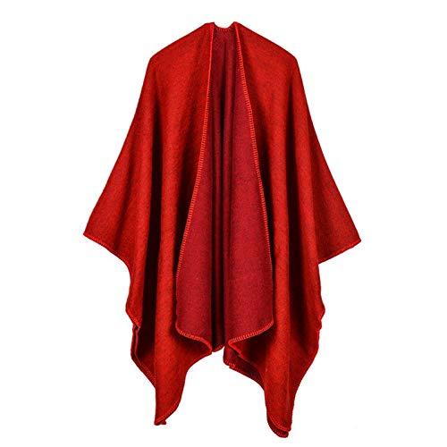 Qiming Chal Caliente para Mujer Cómodas Damas Bufandas Invierno Largo Suave tartán tartán Cheque Wraps Lana girando Tassel Chal estollo Bufanda Bufanda de Tela Escocesa de Invierno