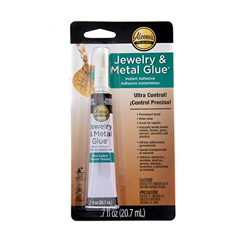 Aleene's 21709 Jewelry & Metal Instant Adhesive Transparent, .70 ounce