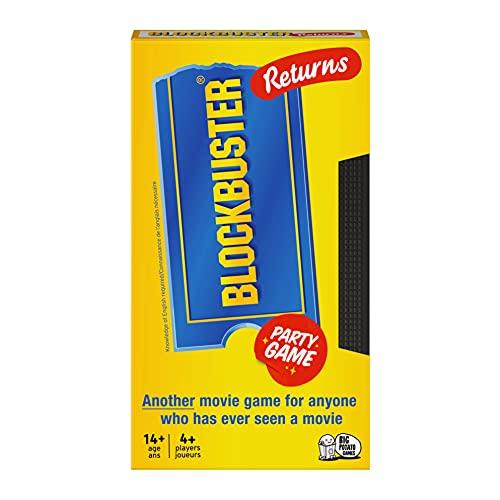Blockbuster Returns board game box