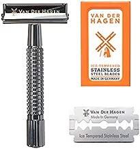 Van Der Hagen Safety Razor Kit - 85MM Chrome