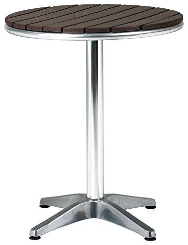 アルミテーブル 丸型 ガーデンテーブル AL-P60RT