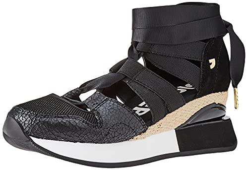 Sneakers DE CUÑA Externa Negras para Mujer Cincinnati