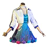 Xin Hai Yuan Juego LOL Cosplay KDA Seraphine COSTUCHE Cultura Vestido 2020 Star Rising STREAPHINE Mujeres Cosplay Disfraz Vestidos Conjunto,L