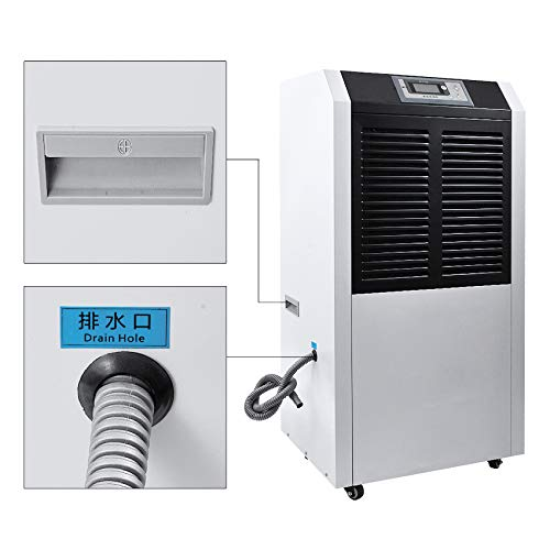 Big Save! SHIJING Industrial Dehumidifier DR-1382L Dehumidifier Basement Dehumidifier Workshop Wareh...