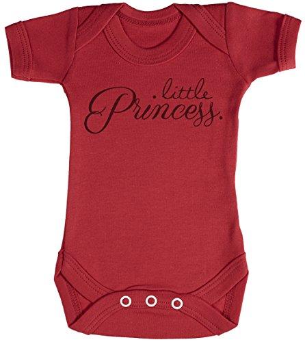 Baby Buddha Little Princess. Body bébé - Gilet bébé - Body bébé Ensemble-Cadeau - Naissance Rouge