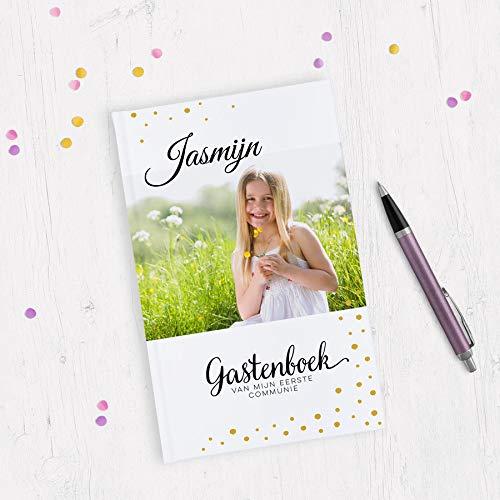 Communie gastenboek bedrukken - A5 - Hardcover