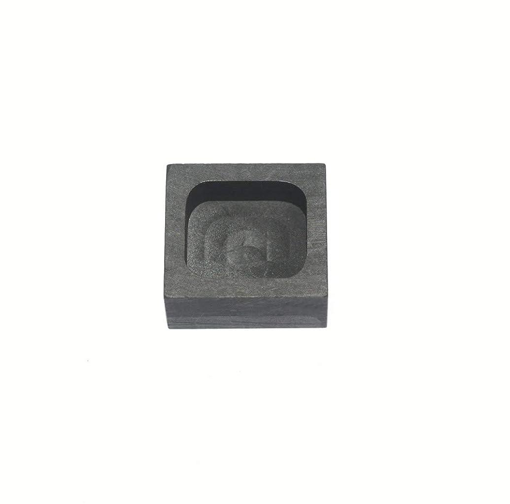 Graphite Ingot Mold Melting Casting Mould for Gold Silver Nonferrous Metal (25g)