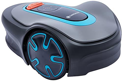 Gardena Sileno Minimo 500 Roboter-Rasenmäher bis zu 500 m² - Mäht bei Regen und in Engen Durchgängen, Bluetooth-App, sehr leise, Automatik - Rasenroboter (Ref. 15202 26), FR/NL-Version