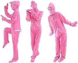 【2枚組】 BIBI LAB | ビビラボ 人型寝袋フリース X エックス | EH-PINK-S | Sサイズ | ピンク | 身長159cm | 着る...