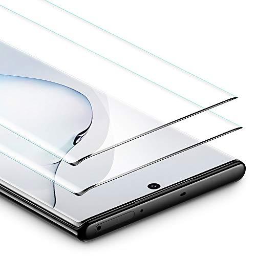 ESR Panzerglas kompatibel mit Samsung Galaxy Note 10 Plus Schutzfolie - Panzerglas Schutzfolie mit Full-Screen Abdeckung [2er Pack] - HD Hartglas Folie für Galaxy Note 10 Plus/Note 10+/5G