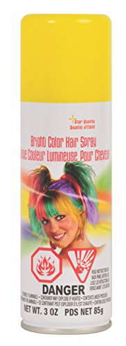 Rubie's Bright Color Hairspray, Yellow