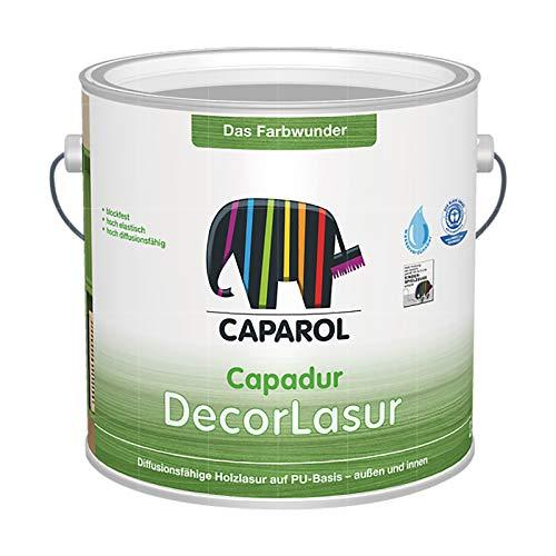 CAPAROL CAPADUR DECORLASUR - 2.5 LTR (WEISS)