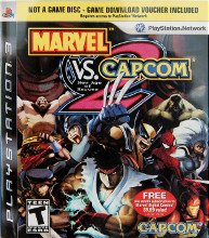 Marvel vs Capcom 2 PS3 (Playstation 3, 2009) - Gamestop Exclusive