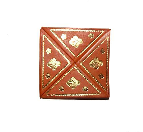 Marrakech Accessoires monedero de cuero Faltbörse Marruecos Bolsa - 905816-0003