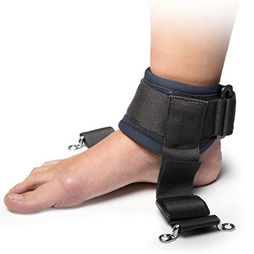 Adiggy Medical | Sujeciones de tobillo para Silla de Ruedas acolchado | Incluye tornillos | El precio es por el par (Talla 0)