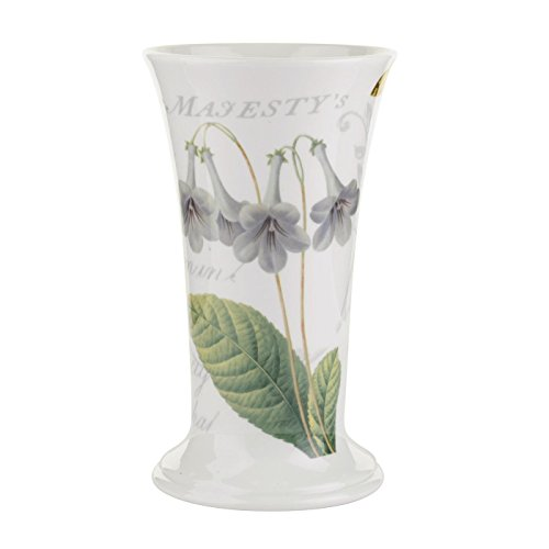 RHS Journal de Fleurs évasé-Vase en Porcelaine Multicolore