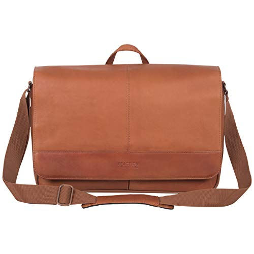 Kenneth Cole Reaction 15.6' Laptop Messenger Bag, Cognac