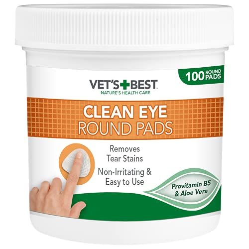 Vets Best Honden oogreinigingsdoekjes 100 stuks