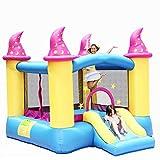 qazxsw Children's Inflatable House Inflatable Children's Amusement Park Indoor Small Slide Household Children's Trampoline Inflatable Playground Children's Inflatable Toys