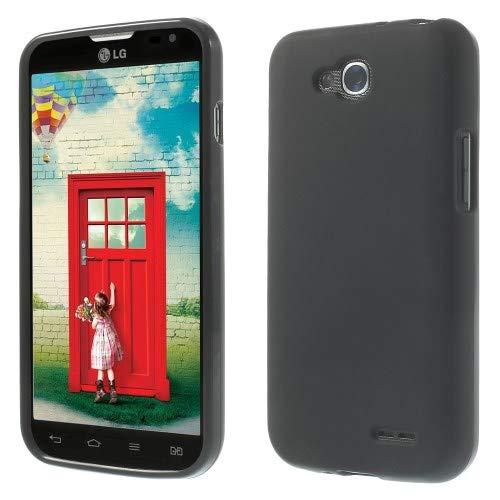 jbTec TPU-Hülle Handy-Hülle - Schutz-Hülle Silikon-Hülle Cover Tasche Bumper Schutzhülle Handyhülle Handytasche, Farbe:Schwarz, passend für:LG L90