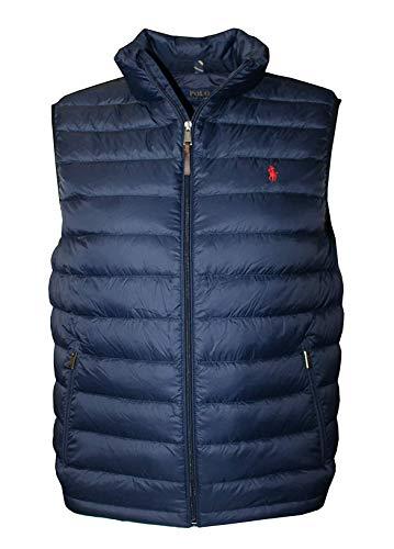 Polo Ralph Lauren Men's Down Pony Full Zip Active Vest (XXL)