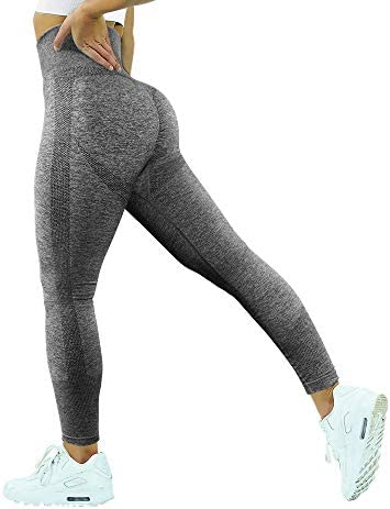 MOOSLOVER Seamless Butt Lifting Workout Leggings for Women High Waist Yoga Pants Compression product image