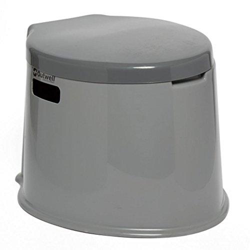 Outwell Toilettes Portables 7L–Gris, Taille Unique