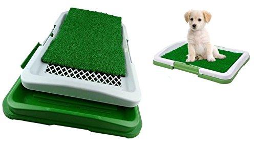takestop® Dog Toilette Cani Potty Pad LETTIERA WC Lavabile 3 Livelli Strati BISOGNI Animali 47x34x6cm